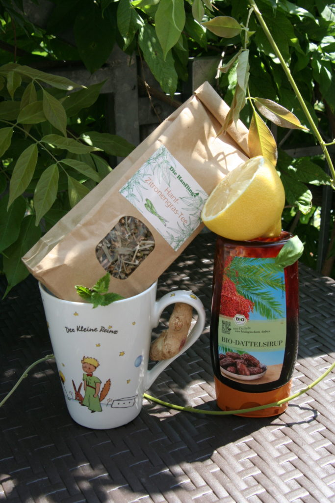 Hanf Tee Rezept - Sommerlicher Erfrischungs-Hanf Tee